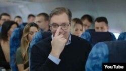 Foto iz zvaničnog predizbornog spota Aleksandra Vučića