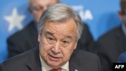 UN Secretary-General, Antonio Guterres (file photo)
