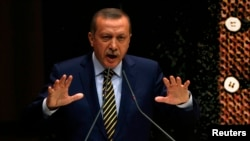 "Turkish Prime Minister Recep Tayyip Erdogan has called a corruption probe a ""dirty"" plot to try to topple his government."