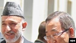 در کنفرانس رم، حامد کرزای، رییس جمهوری افغانستان و بان گی مون، دبیر سازمان ملل متحد حضور دارند.