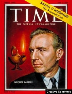 Жак Барзэн на обложке журнала Time