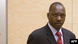 Former Congolese militia commander Thomas Lubanga Dyilo