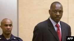 Томас Лубанга в суде