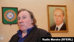 Жерар Депардье в Чечне. Архивное фото