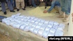 مواد مخدر ضبط شده توسط پولیس