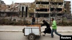 Ndërtesa e Ambasadës së Kinës në Beograd e bombarduar nga NATO