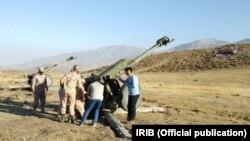 Ирандын сакчылар корпусу аскердик машыгуу өткөрүп жатат (сүрөт качан тартылганы белгисиз).