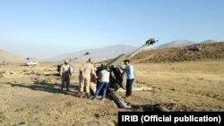 این تصویر رزمایش «محرم» در مهر ماه سال گذشته در مناطق مرزی اشنویه را نشان میدهد