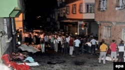 شهر غازیان تپه ترکیه محلی که در آن حمله انتحاری صورت گرفت.