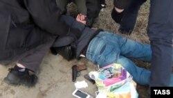 Задержание подозреваемых в совершении теракта в Петербурге