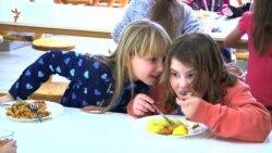 Шкільні обіди в Чехії: інтернет-меню і автомати з солодощами