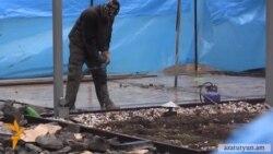 Ահազանգ. Կասկադի հարևանությամբ ապօրինի շինարարությունը շարունակվում է