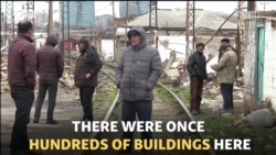 Last Residents Of Baku's 'Shanghai' Fight Eviction