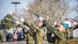 Copiii de la colegiul militar Suvorov