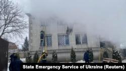 Пожар в доме престарелых, Харьков, 21 января 2021