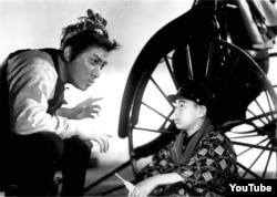 Тамасабуро Бандо сыграл рикшу в фильме 1943 года