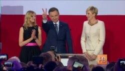 Консерватор Анджей Дуда - новый президент Польши