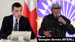 Георгий Гахария и Вахтанг Кикабидзе