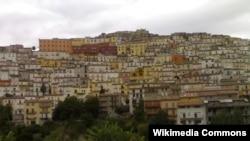 Город Калитри в Кампании (юг Италии)