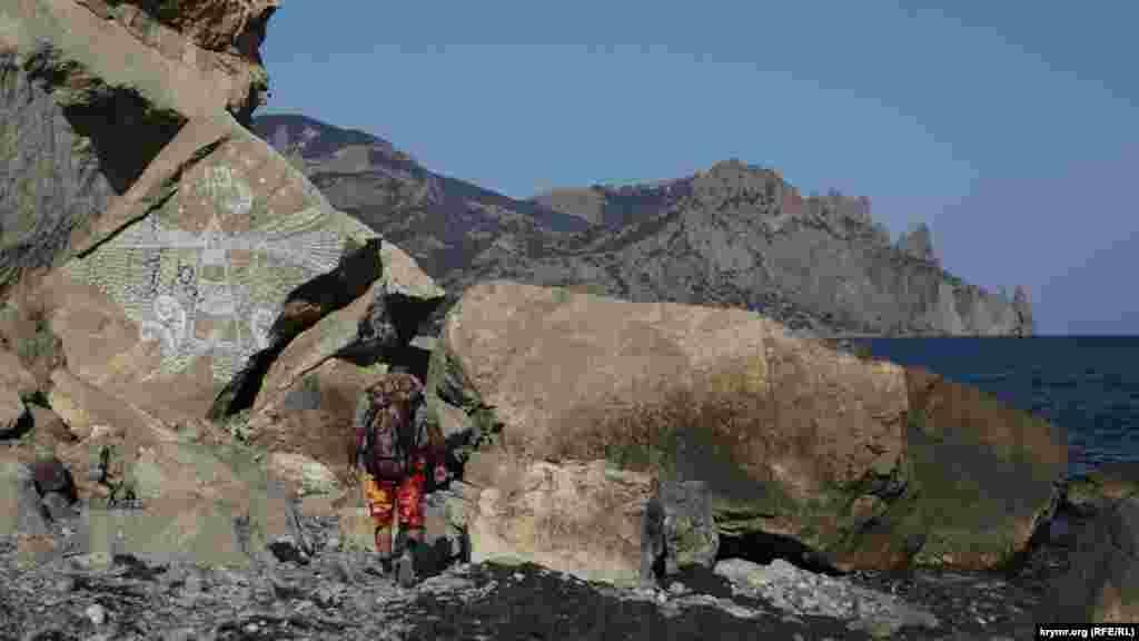 Тропа от Солидола до «Кыр-Пыра» в сентябре пользуется популярностью