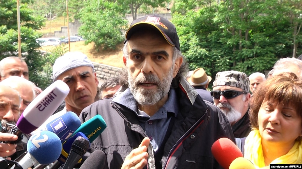 Гарегин Чугасзян прекратил голодовку