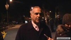 Հովհաննիսյանը հանդիպեց Բագրատյանին, մի քանի ժամով հեռացավ հրապարակից