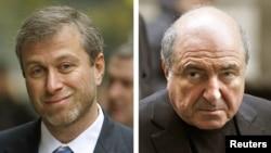 Роман Абрамович (слева) и Борис Березовский