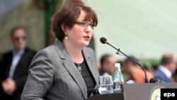 Грузия қорғаныс министрі Тинатин Хидашели.