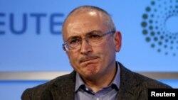 """ЮКОС компаниясының бұрынғы басшысы, """"Открытая Россия"""" ұйымын құрған опозициялық тұлға Михаил Ходорковский."""
