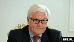 Министр иностранных дел Германии Франк-Вальтер Штайнмайер.