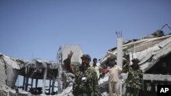معترضان حکومت لیبی در بریقه