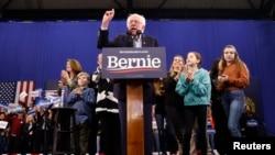 Kandidati demokrat për president të Shteteve të Bashkuara, Bernie Sanders