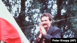 Lech Walesa, 1980.