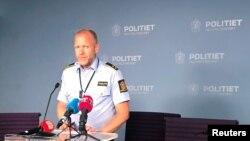 Նորվեգացի ոստիկան Ռունե Սկյոլդի ասուլիսը, Օսլո, 10 օգոստոսի, 2019թ.