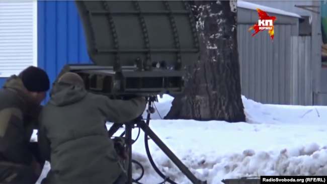 Встреча сепаратистов из СММ ОБСЕ: в кадр попала РЛС «Аистенок»