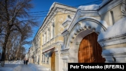 Улица в исторической части Уральска.