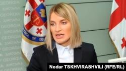 Глава службы мониторинга финансирования политических партий Натия Могеладзе