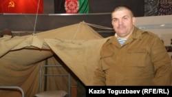 Полковник запаса Сергей Пашевич, руководитель общественной организации «Боевое братство». Алматы, 5 февраля 2014 года.