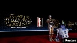 Премьера фильма Star Wars в США