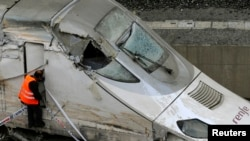 At Least 77 Killed In Spanish Train Crash