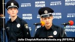 Презентація поліції в Житомирі, де 2 жовтня 2015 року розпочався конкурсний набір нових правоохоронців
