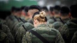 Pjesëtarë të Forcës së Sigurisë së Kosovës. Foto nga arkivi.