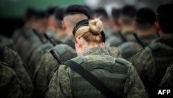 Pjesëtarët e Forcës së Sigurisë së Kosovës.