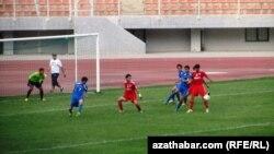 Футбольный матч, Туркменистан (иллюстративное фото)