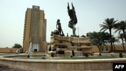 Багдаддын Жашыл аймагындагы имараттар