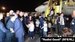 Таджикских детей вернули из Ирака