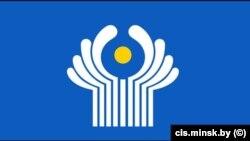 Флаг Содружества Независимых Государств (СНГ). Иллюстративное фото.