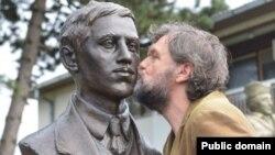 Gavrilo Princip-in Sarayevodakı heykəli