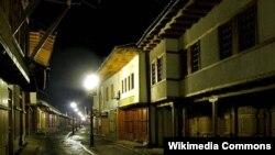 Pamje nga pjesa e vjetër e Gjakovës