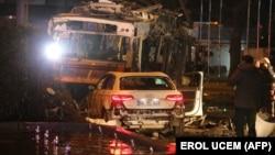 Во бомбашки напад во неделата во Анкара загинаа 37 лица.